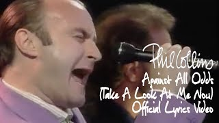 Phil Collins - Against All Odds (Take A Look At Me Now) (Official Lyrics Video)