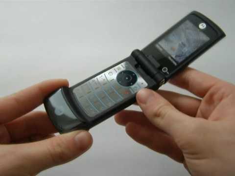 Motorola KRZR K3 - Konstrukce A Design (HQ)