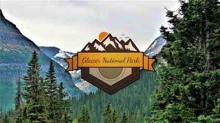 Glacier National Park Aerial Vacation