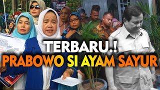 "Dikatain Emak Pepes "" Prabowo Ayam Sayur """