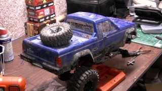 RC Workshop instaling a Level-3 lift kit on the SCX10
