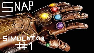How to get all infinity stones in snap simulator(Roblox #1)