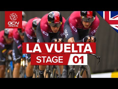 Vuelta A España 2019 Stage 1 Highlights: Team Time Trial | GCN Racing