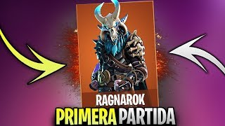 """FIRST PARTY WITH FORTNITE'S BEST """"RAGNAROK"""" SKIN IN SEASON 5 🔥DollarGames🔥"""