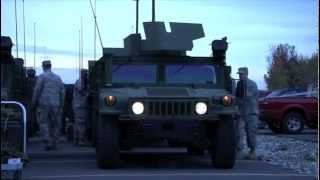 New York National Guard Deploys in Reponse to Hurricane Sandy