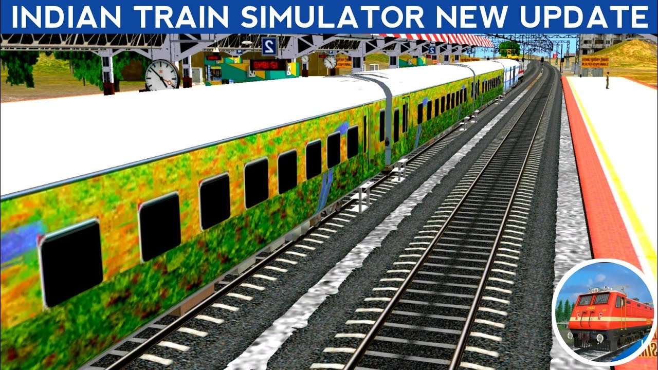INDIAN TRAIN SIMULATOR NEW UPDATE    NEW COACH WITH EOG SOUND    KASIM TECHNICAL