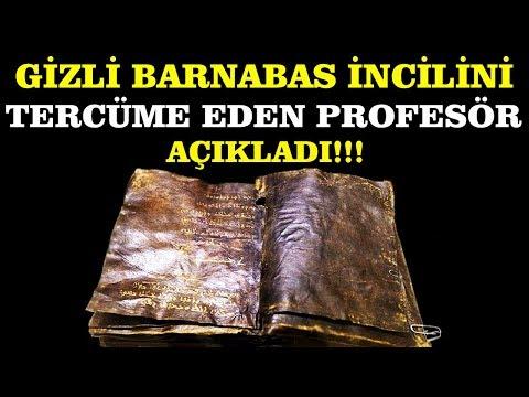 Barnabas İncilini tercüme