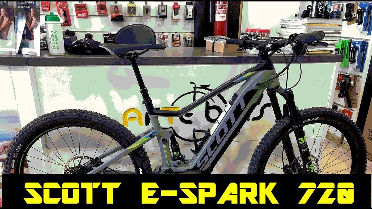 ba33adc31c6 REVIEW A FONDO DE LA SCOTT E-SPARK 720 - YouTube