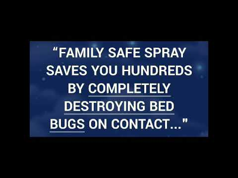 Say Bye Bugs The Best Bed Bug Spray To Kill Bed Bugs Youtube