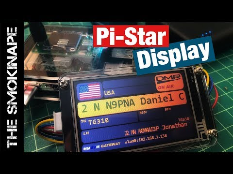 Nextion Display for Pi-Star MMDVM DMR Hotspot - TheSmokinApe