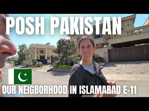 POSH NEIGHBORHOOD IN ISLAMABAD / THE PAKISTAN YOU DON'T SEE IN VLOGS / RESIDENTIAL AREA E-11