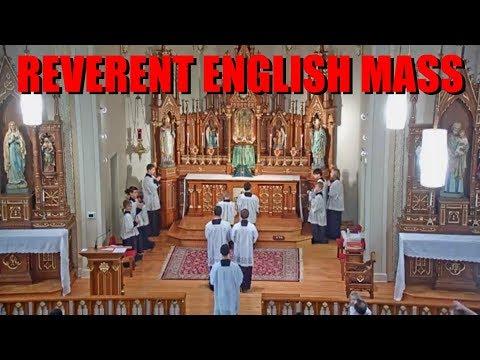 REVERENT ENGLISH MASS @ St. Mary of Pine Bluff Church - Sun, Nov. 17, 2019