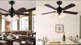 видео Потолочные вентиляторы