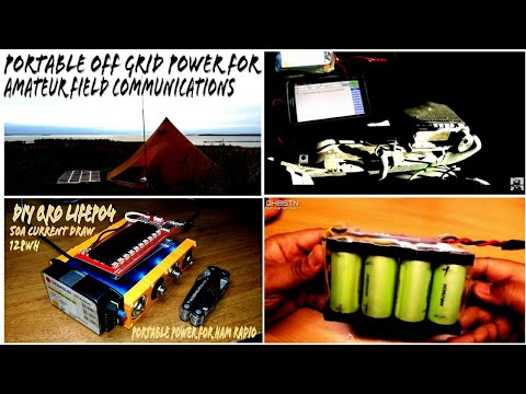 Ham Radio Battery & Solar Power | Off Grid Battery Projects