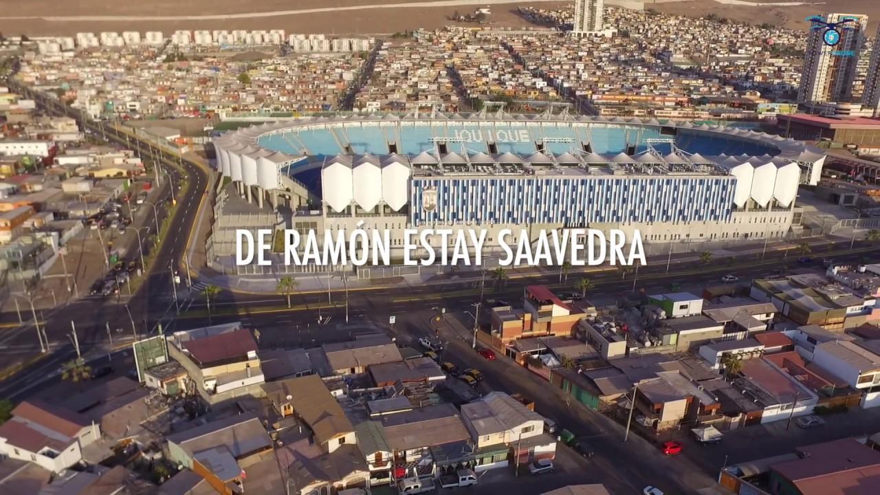 Nuevo Estadio Tierra de Campeones de Ramón Estay Saavedra.