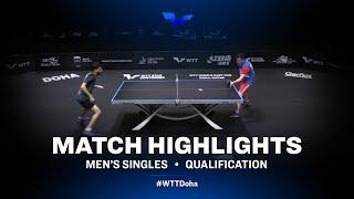Aleksandar Karakasevic vs Ali Alkhadrawi | WTT Star Contender Doha 2021 | MS | QUAL Highlights