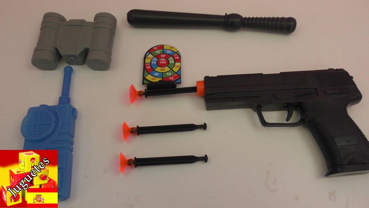 Set Armas Demo Yansheng De PolicíaUnboxing lFcK1J