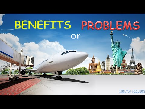 IELTS Writing - Tourism - Problems or Benefits