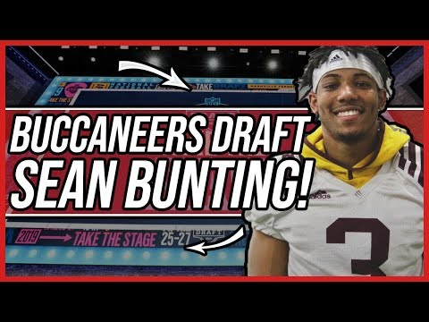 Tampa Bay Buccaneers Draft Sean Bunting with the 39th Overall Pick!