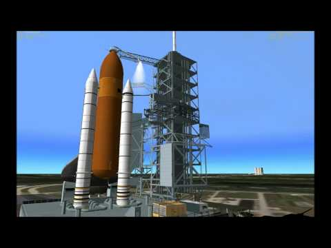 Space Shuttle Launch Sequence (Part 1)