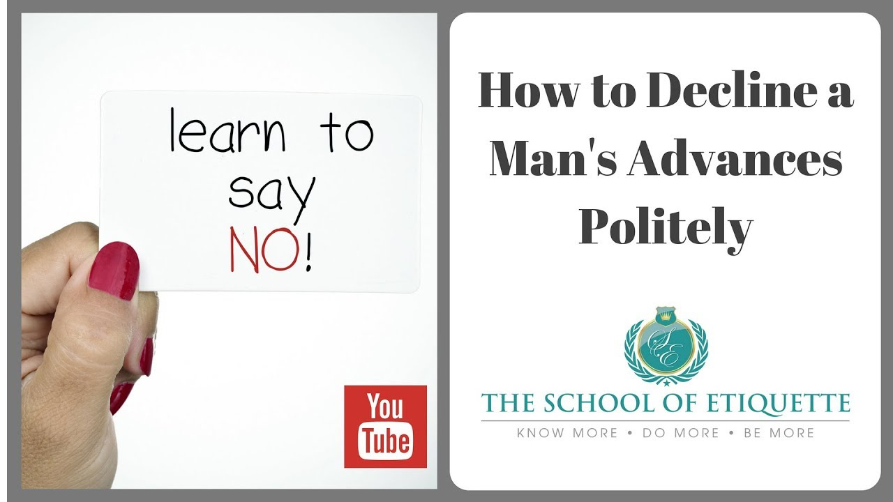 how to decline politely