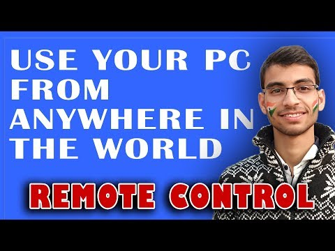 🛂 Remote Control 📲 Use Your PC From Anywhere in The World🌎 (Need Internet) Using Teamviewer 2018