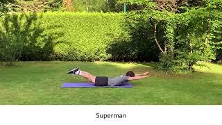 Exercices pour les lombaires (bas du dos)