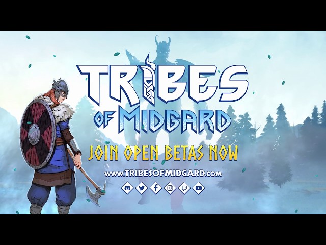 The Co-Op Survival Game Tribes Of Midgard Is Now In Open