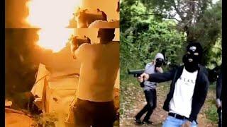 Houston Goons Shoot YNW Melly Affiliate,Plies Car Shot Up Plies Run In H????tlanta..DA PRODUCT DVD