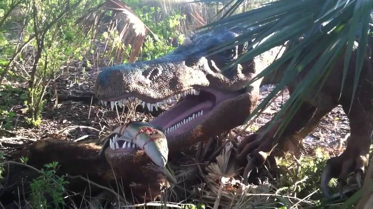 Dinotrek At Jacksonville Zoo Gardens Youtube