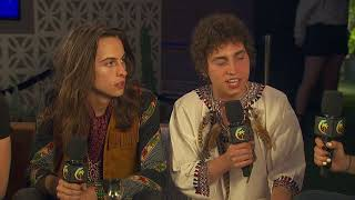 Greta Van Fleet Interview - Coachella 2018