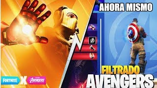 🔴 THE GREAT AVENGERS EVENT ARRIVES TO LIVE FORTNITE!! AVENGERS SKINS?