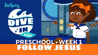 Dive In At Home | Preschool Week 1