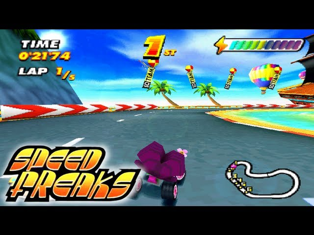 Let's Play Speed Freaks: Part 1 - Easy Cup [Normal Wheels]