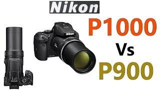 Nikon COOLPIX P1000 vs P900 Comparison !