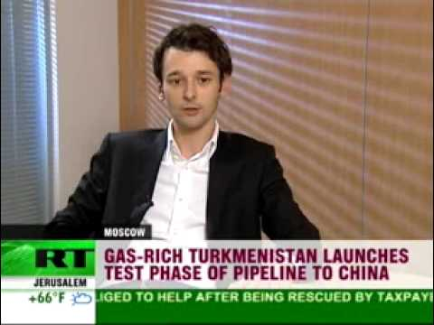 Turkmen gas pipeline to China opens - RT 091215