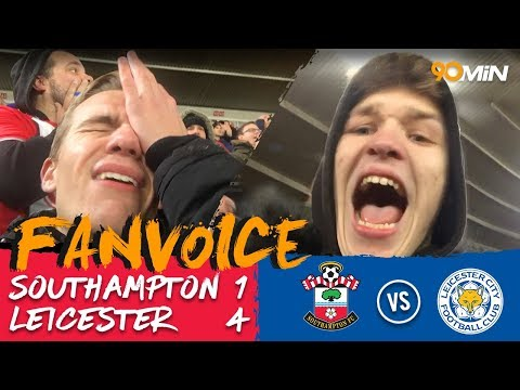 Southampton 1-4 Leicester | Leicester smash Southampton as they win 4-1! | FanVoice