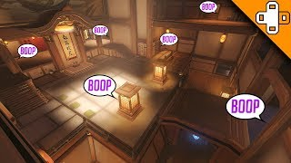 Sombra Hide & Boop! Can YOU Find Sombra? Overwatch Funny & Epic Moments 693