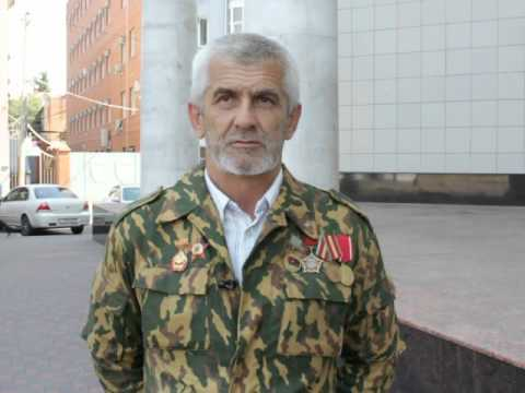 Пенсионер-'афганец' против полиции