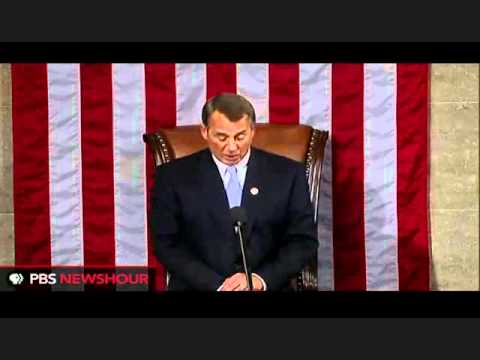 John Boehner speech dedicates 112th Congress to the will of the people and US Constitution