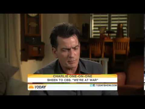 Charlie Sheen Goes CRAZY on The Today