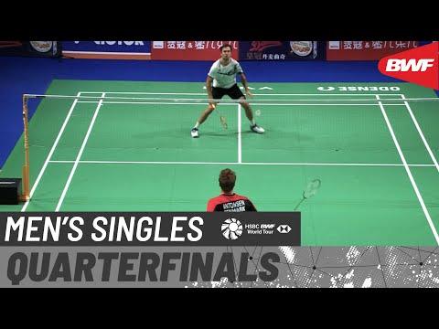 DANISA Denmark Open 2020 | Day 4: Jan O Jorgensen (DEN) [8] vs Anders Antonsen (DEN) [3]