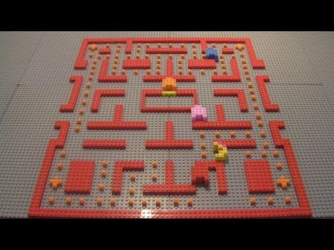 Lego Ms. Pac-Man Game