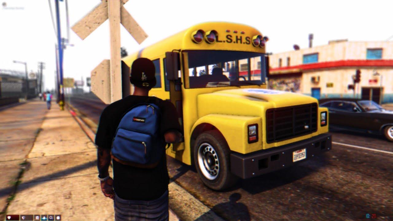SCHOOL TRAP LIFE In The Hood📆 | Senior Year GTA 5 Roleplay EP.7