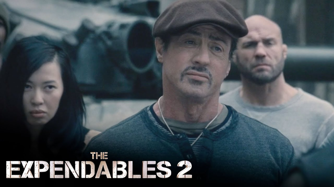 Download 'They Got A Tank' | The Expendables 2