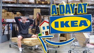 POST LOCKDOWN SHOPPING DAY AT IKEA!! SHOPPING FOR OUR HOUSE