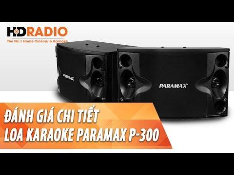 Đánh giá chi tiết Loa Karaoke Paramax P300 - Chính Hãng, Giá Rẻ và Có Võ.