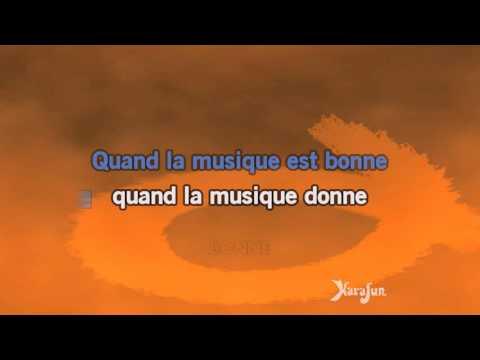 Karaoké Quand la musique est bonne - Jean-Jacques Goldman *