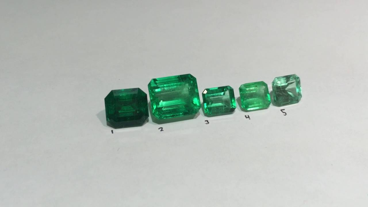 How to grade different Emerald tone and Color quality ...
