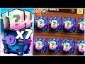 ¡¡ 7 LEGENDARIAS EN 8 COFRES | EL MAZO DE LOS 8 SUPERMAGICOS !! - Clash Royale [WithZack]